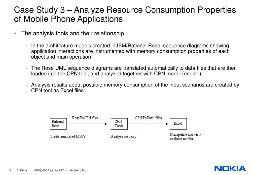 Case Study 3 – Analyze Resource Consumption Properties of Mobile Phone Applications