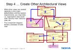 step 4 create other architectural views