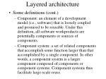 layered architecture37