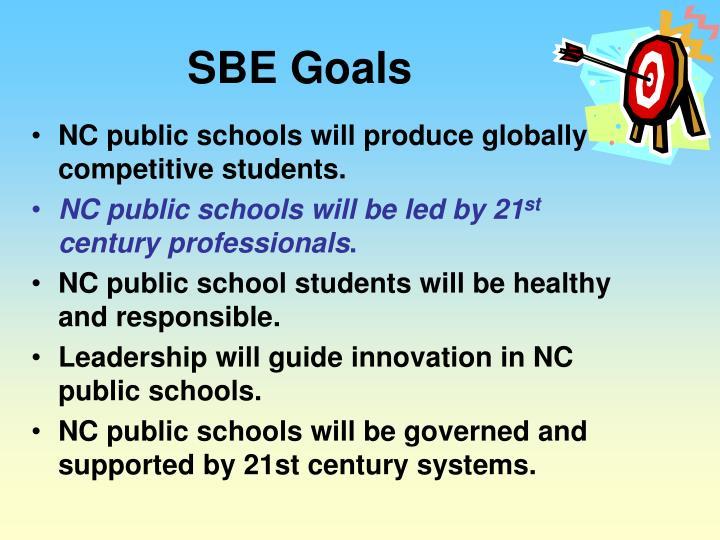 SBE Goals