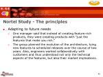 nortel study the principles40