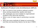 software product line architecture spla47