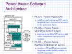 power aware software architecture20