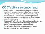 oodt software components