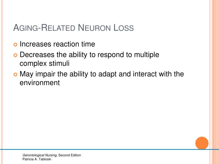 Aging-Related Neuron Loss