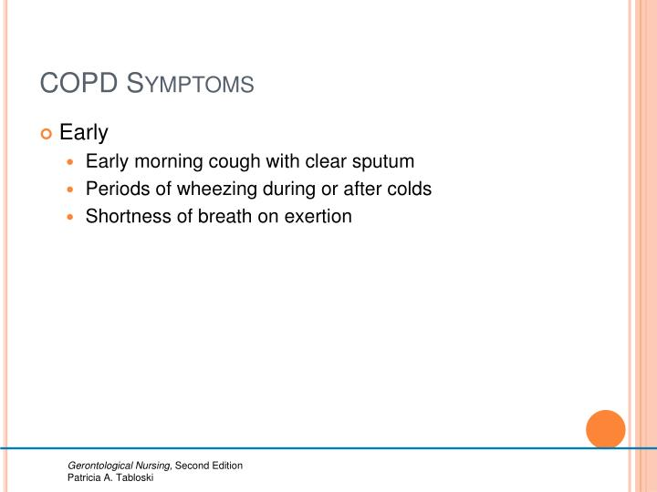 COPD Symptoms
