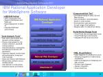 ibm rational application developer for websphere software