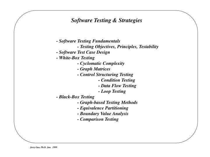 Ppt Software Testing Strategies Powerpoint Presentation Free Download Id 48522
