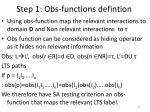 step 1 obs functions defintion16