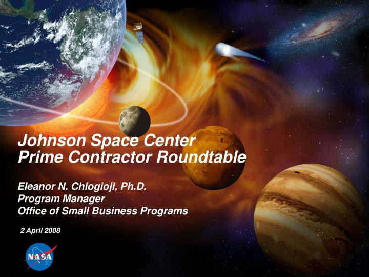 johnson space center prime contractor roundtable n.
