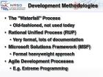 development methodologies40