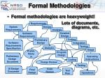 formal methodologies