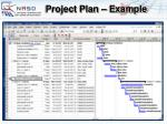 project plan example