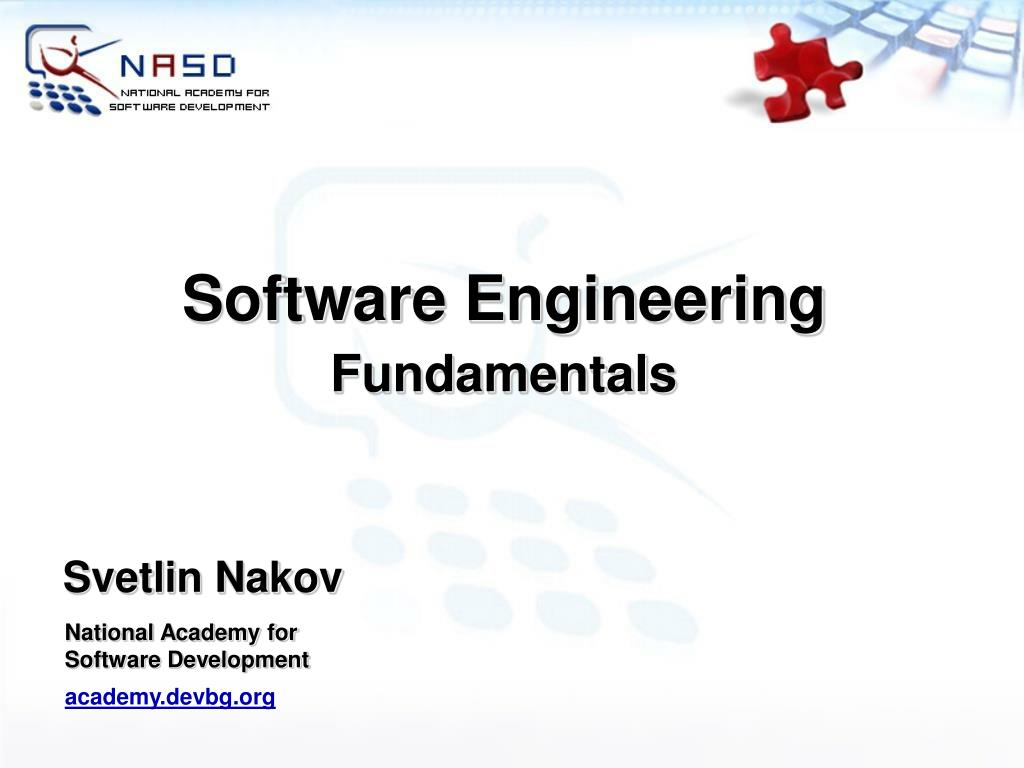 software engineering fundamentals l.