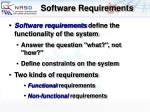 software requirements9