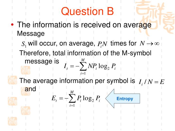 Question B