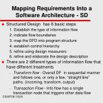 mapping requirements into a software architecture sd