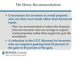 the henry recommendations4