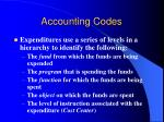 accounting codes1