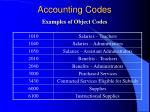 accounting codes12