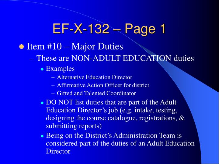 EF-X-132 – Page 1