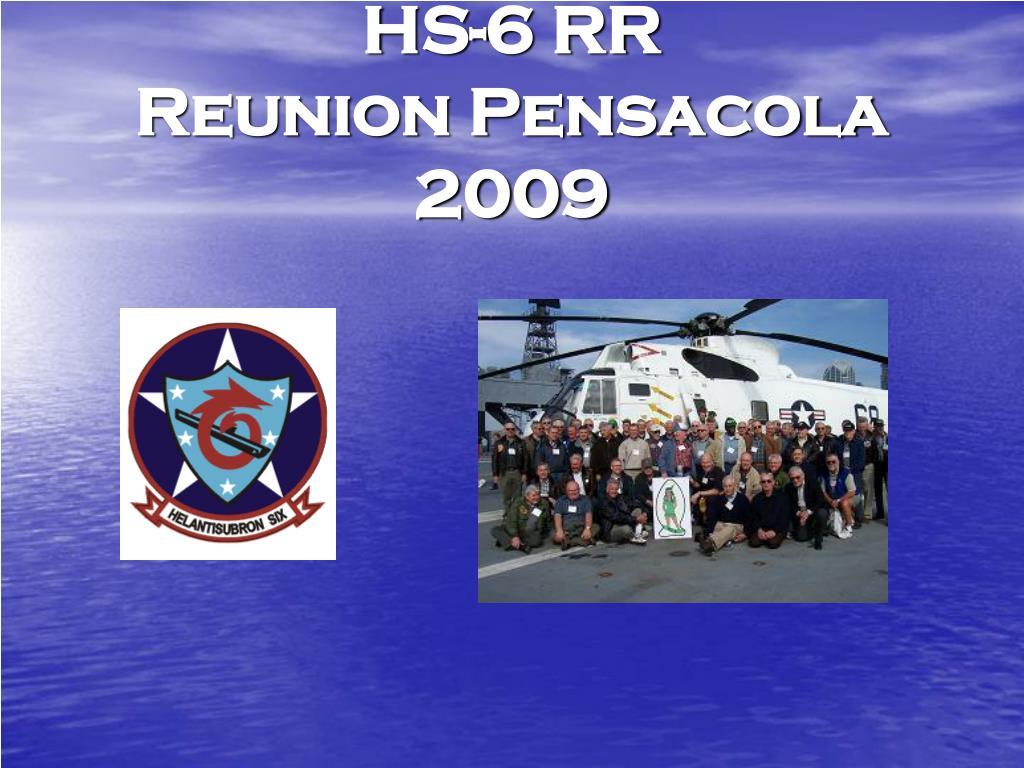 hs 6 rr reunion pensacola 2009 l.