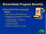 brownfields program benefits19