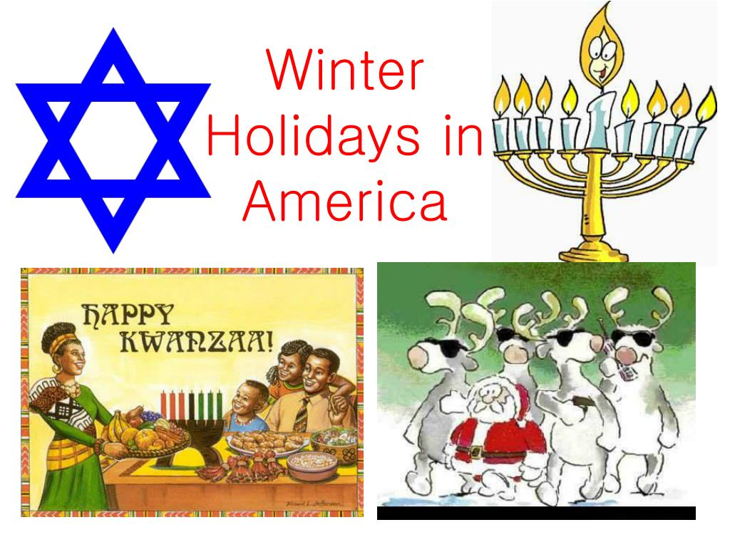 winter holidays in america l.