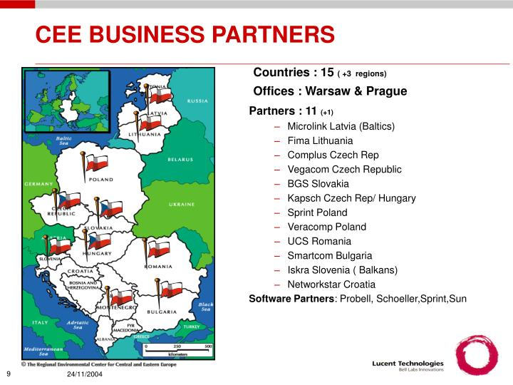 CEE BUSINESS PARTNERS