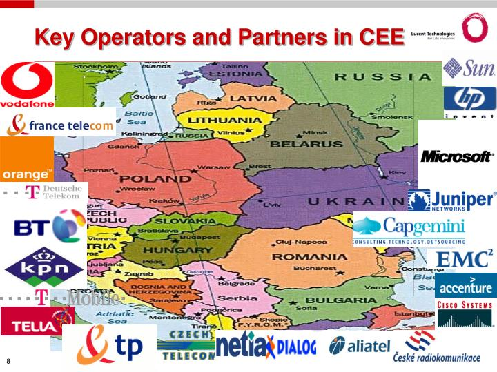 Key Operators and Partners in CEE