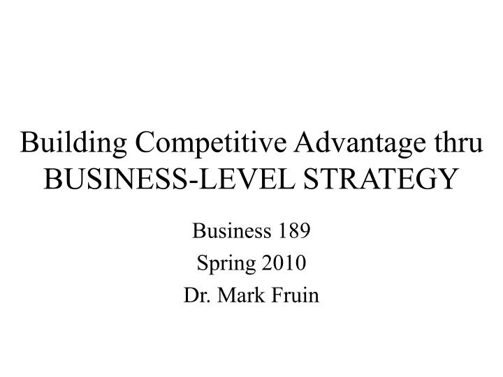 competitive advantage of a construction company How to write a great business plan: competitive analysis  and company objectives should be readily available  what will you do to take advantage of the .