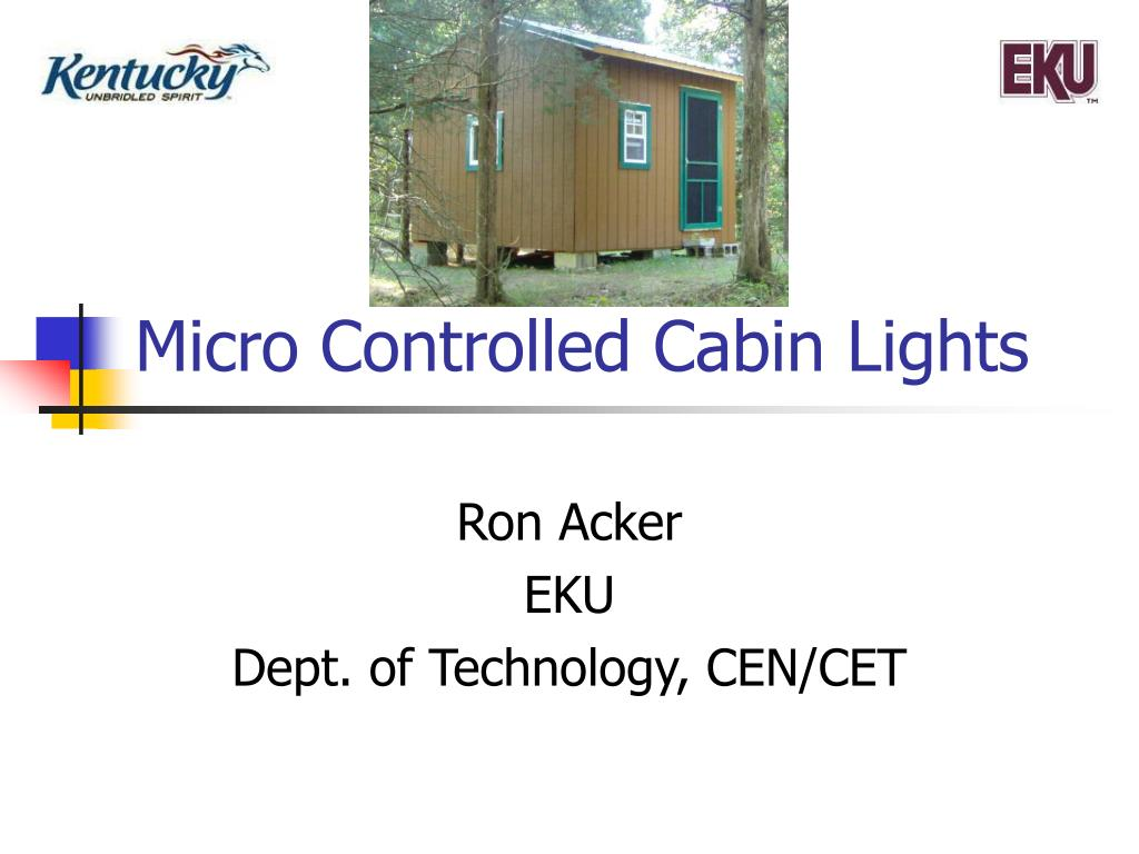 micro controlled cabin lights l.