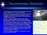 the information revolution29