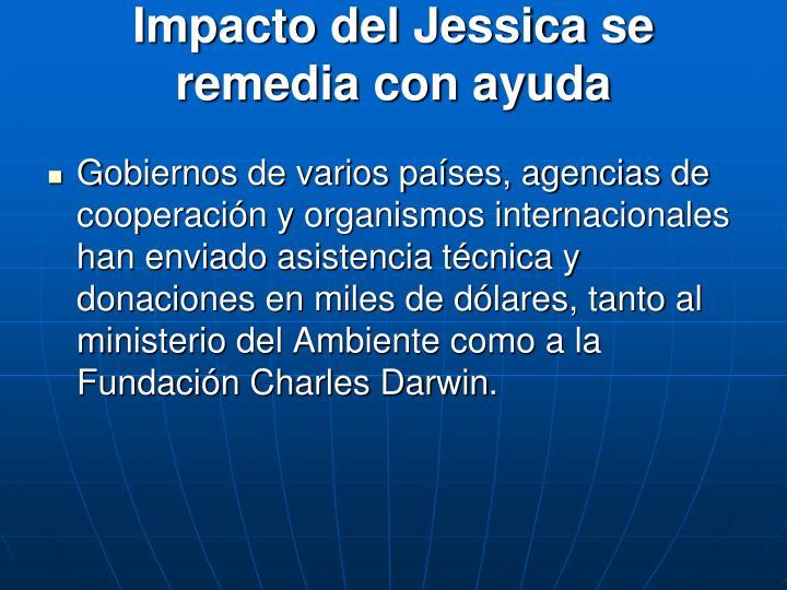 Impacto del Jessica se remedia con ayuda