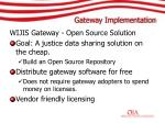 gateway implementation
