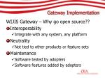gateway implementation20