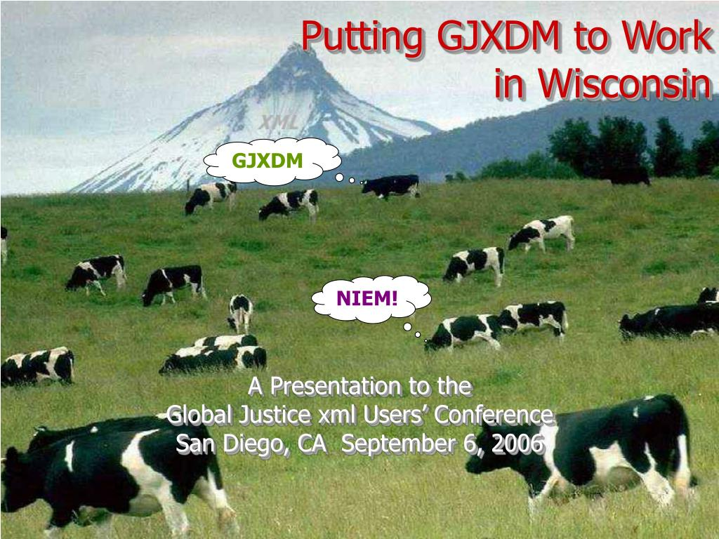 putting gjxdm to work in wisconsin l.