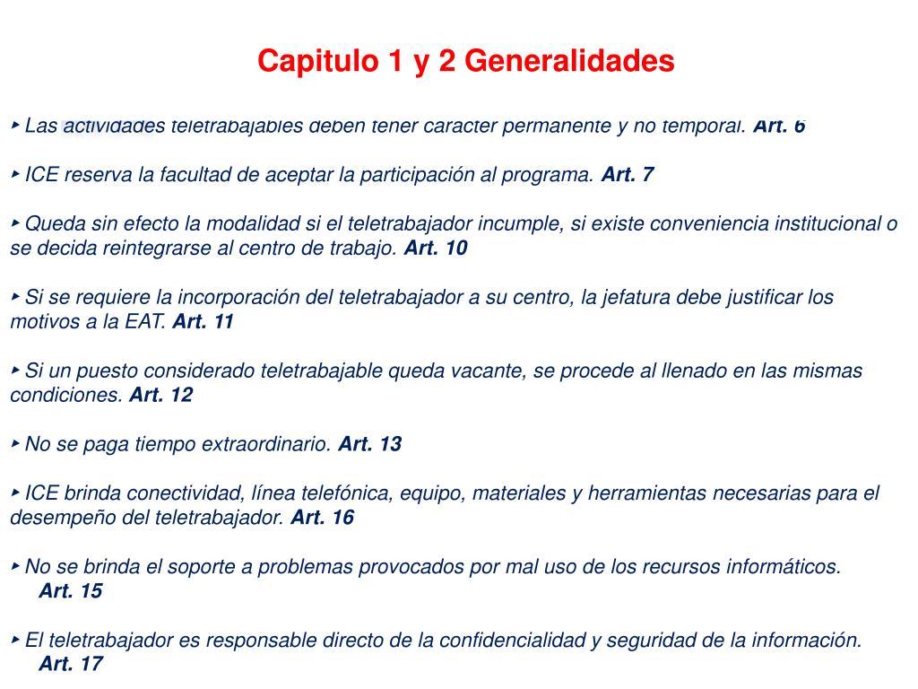Capitulo 1 y 2 Generalidades