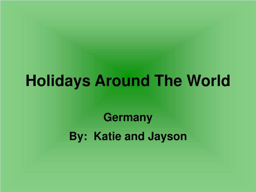 holidays around the world l.