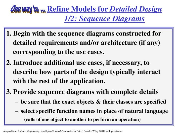 Refine Models for