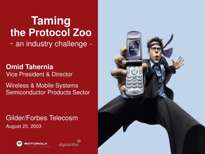 taming the protocol zoo an industry challenge n.