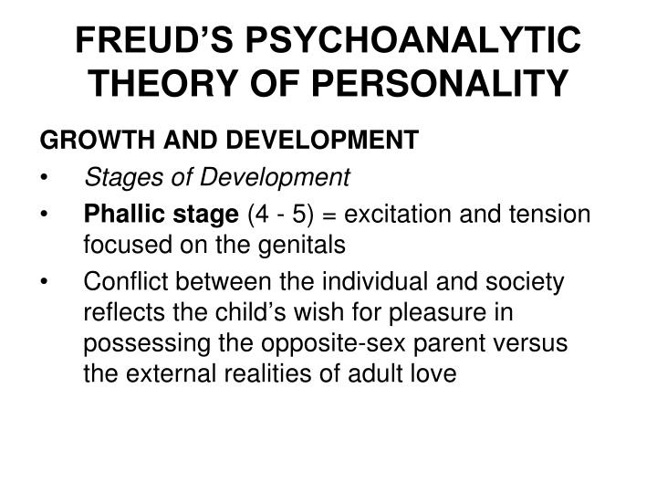 stages of development comparison between freud Similarities & differences between freud & erikson kelsi johnston updated april 17, 2017 sigmund freud and erik erikson are two of psychology's developmental forerunners, each one having his own theory behind personality and the elements of advancing through the stages of life.