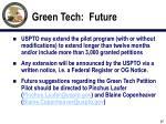 green tech future
