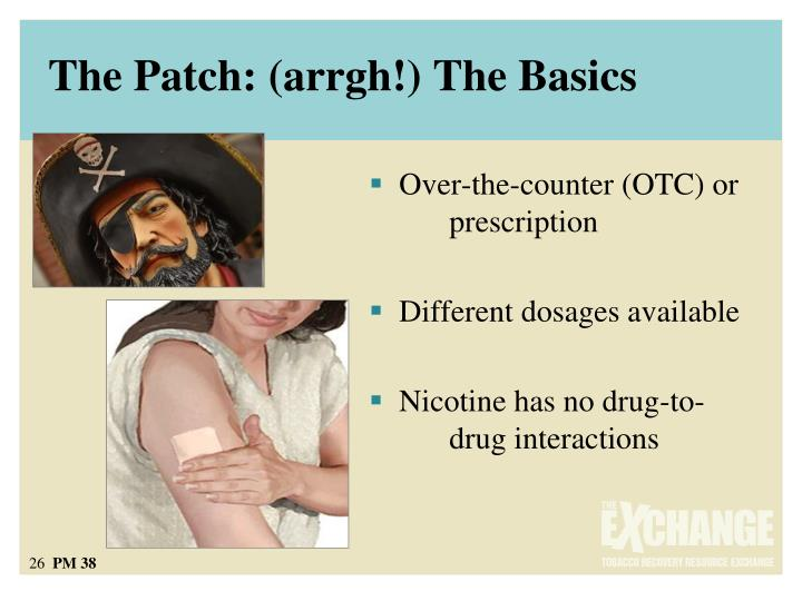 The Patch: (arrgh!) The Basics