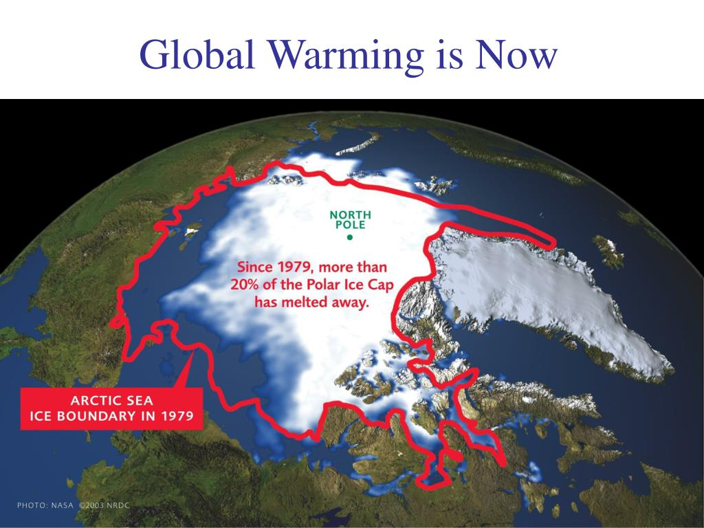 Global Warming is Now