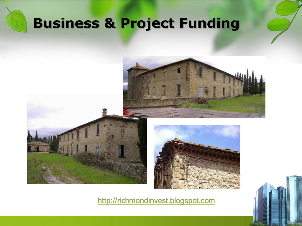 Business & Project Funding