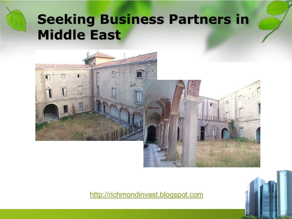 Seeking Business Partners in Middle East