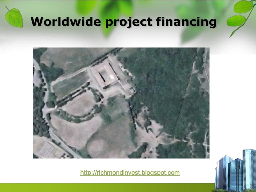 Worldwide project financing