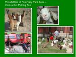 possibilities of fejervary park area contracted petting zoo