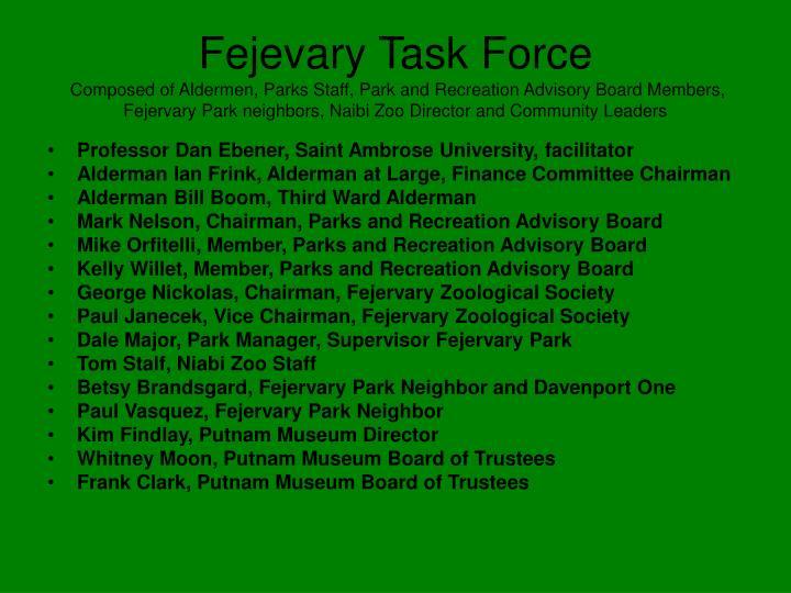 Fejevary Task Force